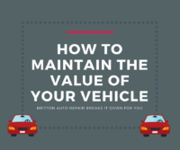title graphic: How to maintain the value of your vehicle